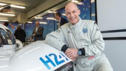 Bertrand Piccard roule avec MissionH24 28 mars 2019 Le Mans - 72x1000