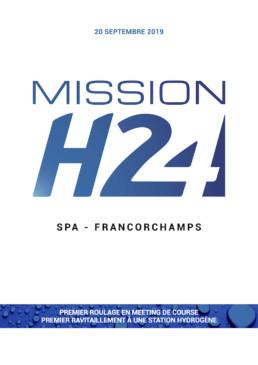 MissionH24, retour à Spa-Francorchamps en week-end de compétition, avec une station mobile de ravitaillement en hydrogène conçue par Total, première mondiale.
