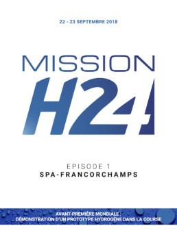 MISSIONH24 2018 Spa-Francorchamps 20180922 communiqué VF Couv
